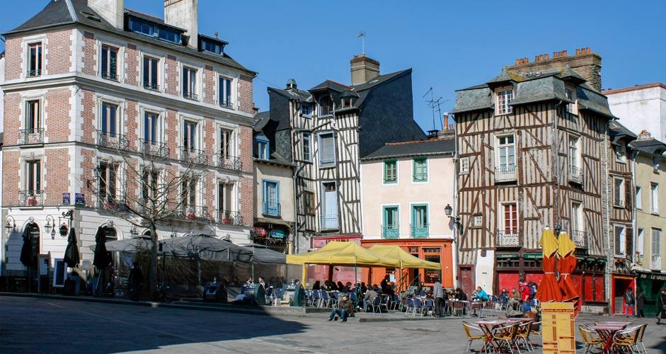 Place Saint-Michel, Rennes